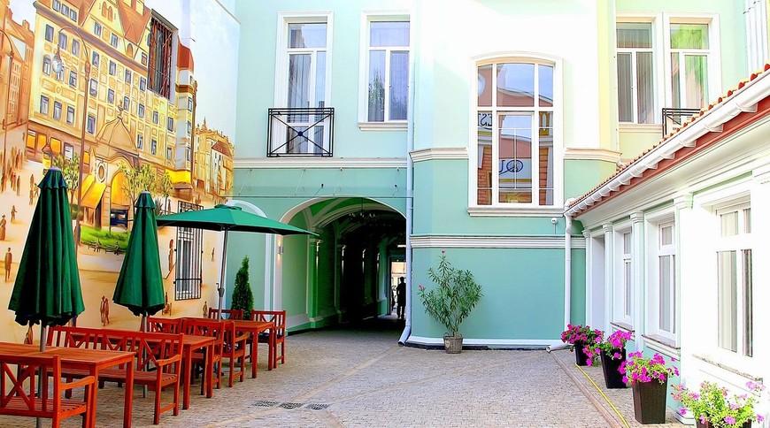 Мини-отель «Vintage Hotel» - Территория