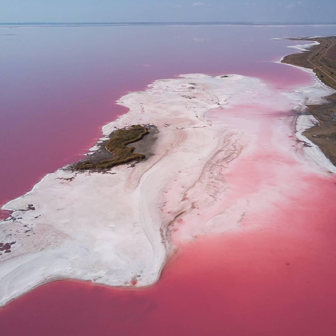 Геническ - озеро Сиваш