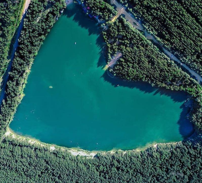 Голубые озера в Олешках