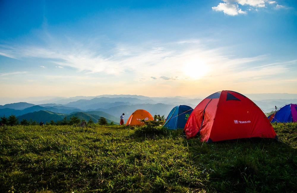 Куда пойти с палаткой в Украине?